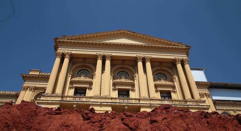 Segundo a secretaria de Cultura, obras do Museu do Ipiranga estão 70% concluídas