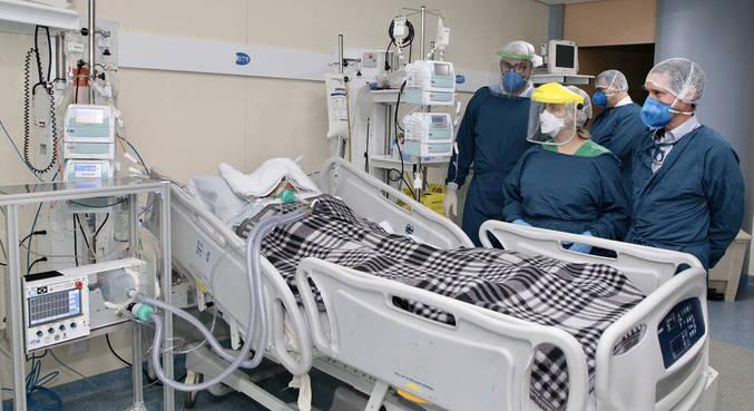 42% dos infectados que desenvolveram doença no coração morreram nos hospitais