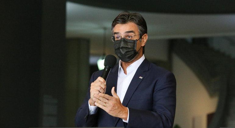 'Vacina será o principal ativo do PSDB para 2022', diz Rodrigo Garcia em filiação