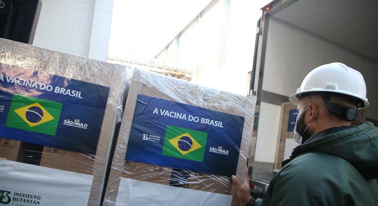 CoronaVac, do Instituto Butantan, é a principal vacina brasileira no momento