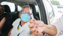 SP retoma vacinação contra covid em drive-thru para primeira dose