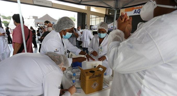 População da cidade de Serrana será testada em massa com CoronaVac