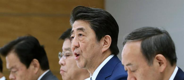 Governo japonês tenta conter disseminação de surto de covide-19