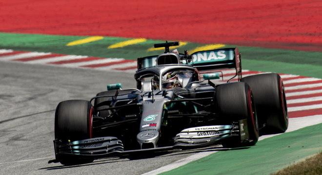 Lewis Hamilton no GP da Áustria no ano passado