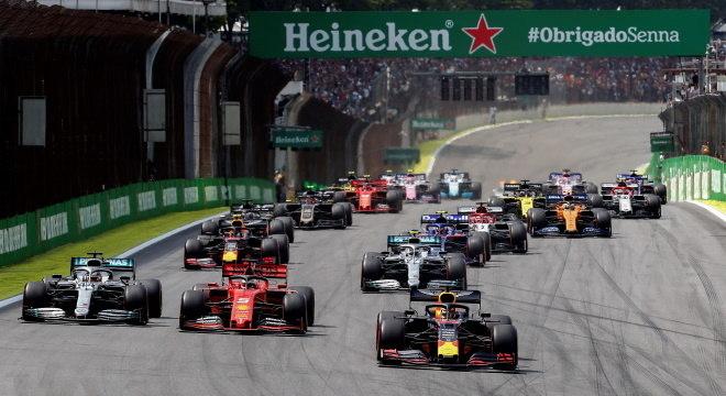 Fórmula 1 confirma que não terá GP do Brasil em 2020