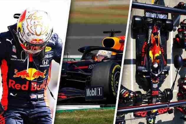 GP dos 70 Anos da Fórmula 1 foi movimentado e marcou a primeira vitória de Max Verstappen em 2020. Veja a história da corrida em imagens: