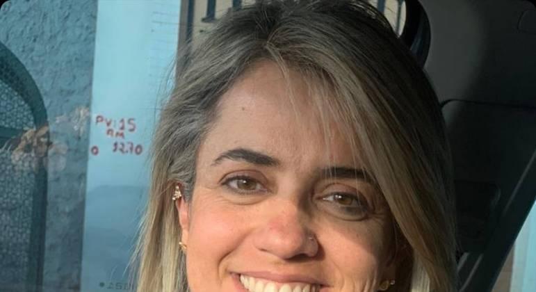 Graças às sessões on-line, a professora Gracielle de Carvalho conseguir continuar com o atendimento psicológico durante a pandemia e superar a perda do pai