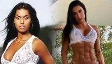 Gracyanne Barbosa impressiona com antes e depois de corpo sarado