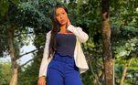Gracyanne BarbosaFormada em: DireitoA musa fitness é graduada em direito naUFRJ, a Universidade Federal do Rio de Janeiro. Em 2018, ela chegou a receber uma homenagem do centro acadêmico da instituição, que criou camisetas com desenhos de nomes conhecidos que passaram por lá e Gracy foi uma das escolhidas
