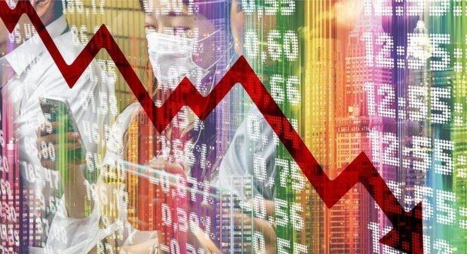 Estimativas colhidas pelo Banco Central indicam retração de 6,5% da economia em 2020