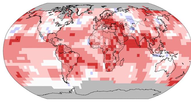 Dados já consolidados mostram também que junho foi um mês com calor atípico no mundo