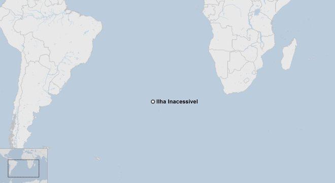A Ilha Inacessível é considerada um patrimônio mundial pela Unesco