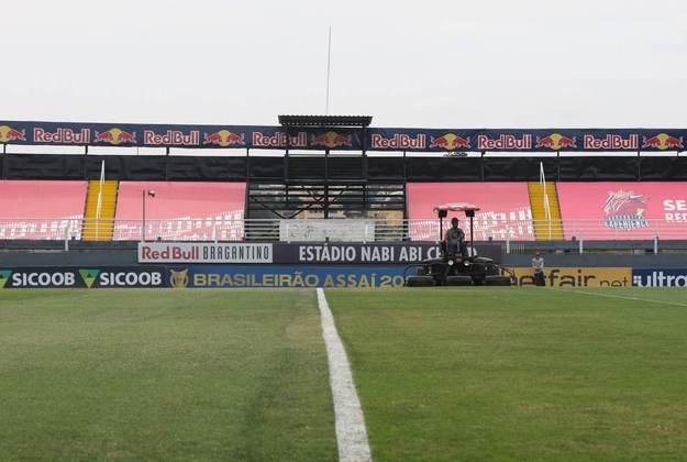 Gramado do Nabizão, como é chamado, é um dos melhores do futebol brasileiro.