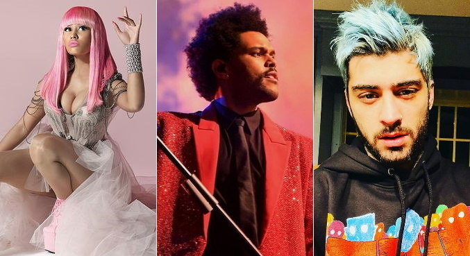 Nomes como Nicki Minaj, The Weeknd e Zayn criticaram o Grammy recentemente