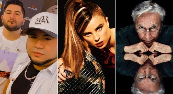 Barões da Pisadinha, Giulia Be e Caetano Veloso concorrem ao Grammy Latino