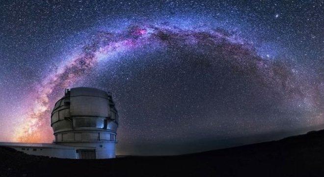 O primeiro espectro do cometa foi obtido por pesquisadores na Espanha por meio do Gran Telescopio Canarias (GTC)