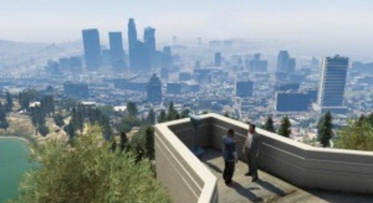 Grand Theft Auto V sai em novembro para PS5 e Xbox Series X S