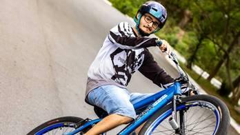 Conheça mais sobre 'grau de bike', desafio à gravidade que encanta (Instagram)