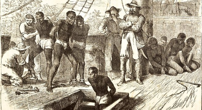 O tráfico de pessoas da África para as Américas durou mais de três séculos