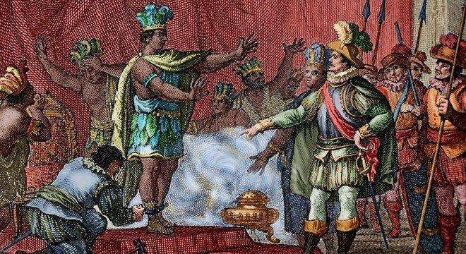 Europeus trouxeram doenças para as Américas que dizimaram populações indígenas