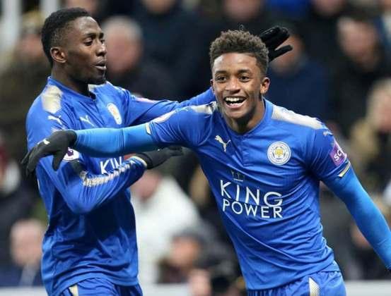 Gray (24 anos) - Clube atual: Leicester - Posição: atacante  - Valor de mercado: 12 milhões de euros