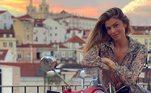 No dia 9 de setembro, Grazi Massafera compartilhou as primeiras imagens em PortugalVeja mais:Grazi deixa Caio Castro no passado e curte vida de solteira em Portugal