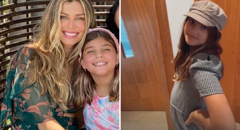 Grazi Massafera se derrete por look estiloso da filha: 'Coisa mais linda'