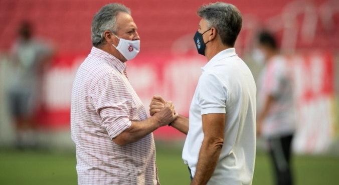 Abel Braga e Renato Gaúcho jogaram o Gre-Nal de número 429