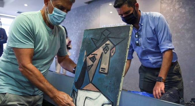 Grécia recupera quadro de Picassou roubado em 2012