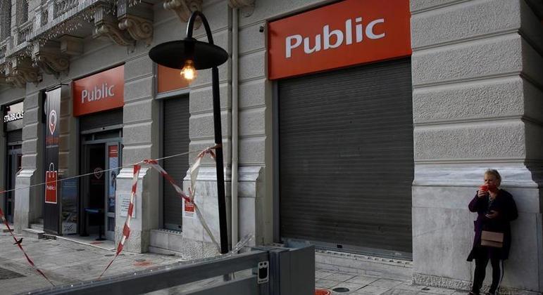 Grécia enfrenta confinamento severo desde meados de novembro