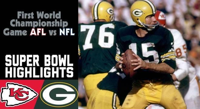 Green Bay, o campeão do primeiro Super Bowl