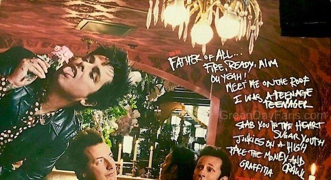 Green Day: fã vaza contracapa e suposto tracklist do novo disco – veja