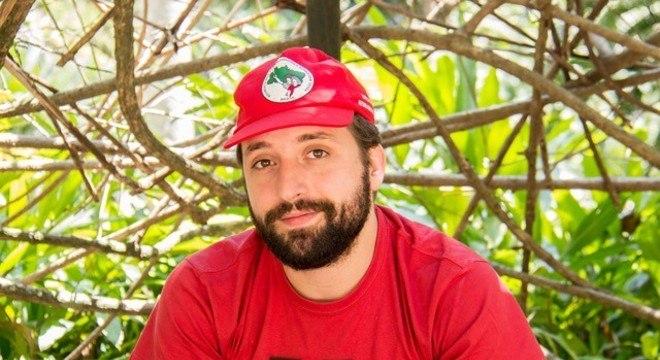 O ator Gregorio Duvivier