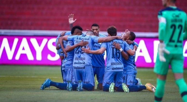 O Grêmio, de Felipão, conseguiu o grande resultado da terça-feira da volta do futebol sul-americano