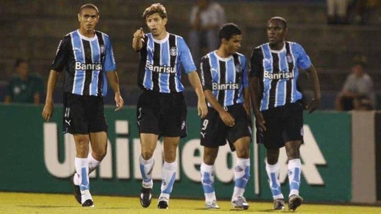 Grêmio: 17º colocado na 6ª rodada do Brasileirão de 2006 com 5 pontos. Terminou o campeonato em 3º lugar