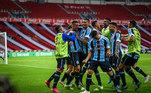 O plantel do Grêmio, com Diego Souza, Jean Pyerre, Ferreira e muitos jovens da base, foi contratado por R$ 59 milhões e hoje em dia é avaliado em R$472,87 milhões.A valorização foi de aproximadamente R$ 413 milhões
