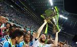 Conhecido por ser 'copeiro', o Grêmio possuí 5 Copas do Brasil, 1 Supercopa do Brasil e 2 Campeonatos Brasileiros