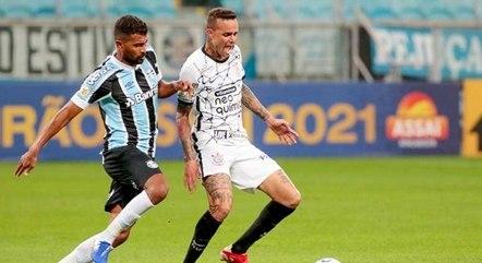 Grêmio perdeu para o Corinthians no sábado