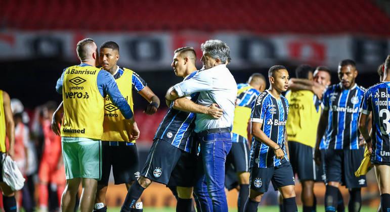 Treinador conseguiu travar todas as armas ofensivas do São Paulo