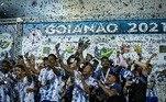 O Grêmio Anápolis é mais um campeão estadual inédito. O clube conquistou o primeiro campeonato goiano da história da instituição