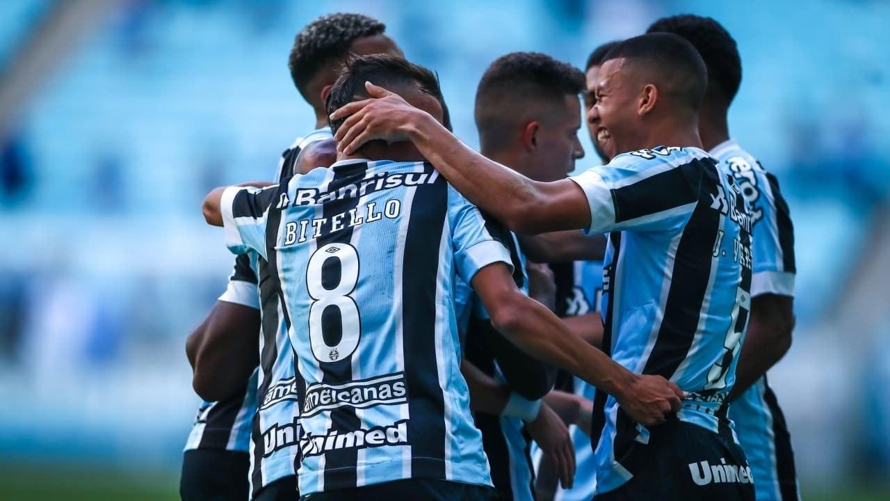 É campeão! Grêmio vence o Ceará e conquista o Brasileirão de Aspirantes 2021