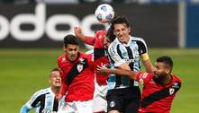 Atlético-GO vence o lanterna Grêmio, que segue sem vencer