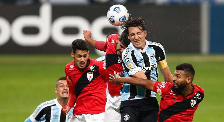 Atlético-GO bateu o Grêmio por 1 a 0 na Arena do Grêmio, em Porto Alegre