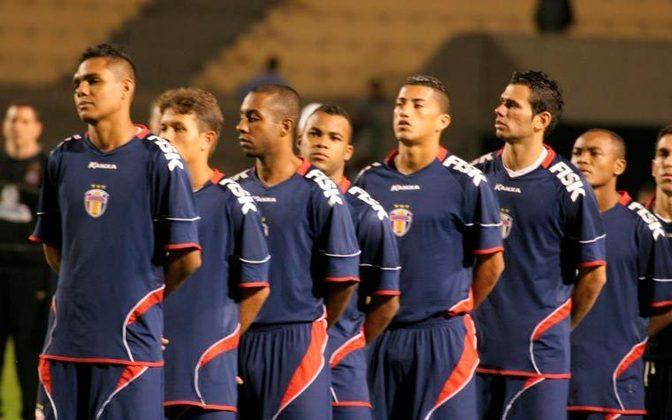 Grêmio Barueri - Com apenas 20 anos de fundação, chegou à elite do futebol brasileiro em 2009 e disputou a Copa Sul-Americana em 2010.