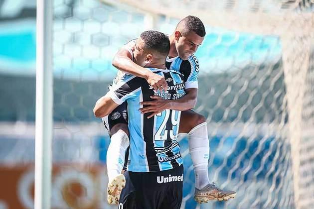 Grêmio (Brasil) - Valor do elenco: 84,95 milhões de euros (R$526,54 milhões) - Número de jogadores: 34