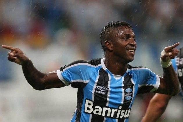Grêmio: contratou Miller Bolaños do Emelec (EQU) por R$ 20 milhões em 2016