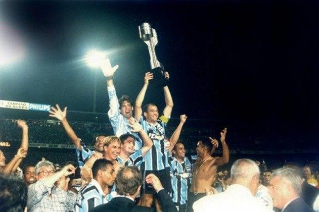 Grêmio - dois títulos:  1981 e 1996 (foto)