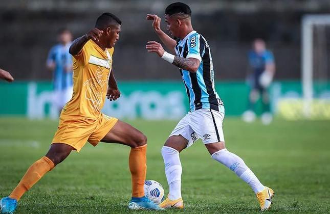 Grêmio: eliminou o Brasiliense com placar agregado de 2 a 0