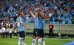 O Grêmio venceu o Monagas pela Copa Libertadores