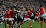 Gremio, Inter, briga, Libertadores